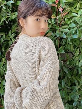 【池袋】【Third】紐アレンジ × レザー