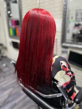 原色赤髪 二次元カラーTRICKstyle!