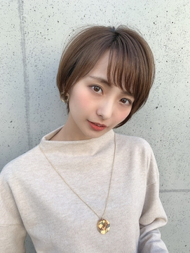 篠田麻里子風ショートボブ