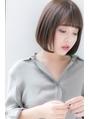 【Euphoria池袋/根本】大人可愛いブランジュ丸みショートボブ