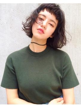 【UNU】短い前髪にも相性◎外国人風パーマ♪