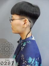 《from0287中目黒》 タカ エクステ遊びの黒髪ショート.1