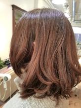 hair sos ベリーブルーピンク、バレイアージュ .18