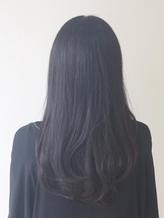 ロング×黒髪スタイル .40