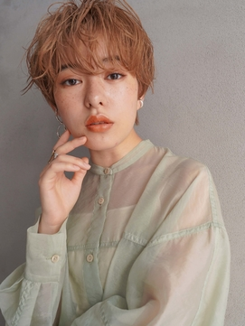 くびれ/イメチェン前髪/黒髪/ラベンダーカラー/髪質改善/tokio