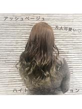 大人可愛い×アッシュベージュ(miq 川口店).49