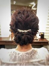 【新規/結婚式&二次会ヘアセット】その日の服や髪の量に合わせてあなたぴったりの髪型をご提案♪
