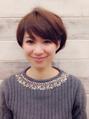 【OBRI HAIR 表参道】ショートスタイル