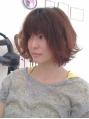 モデル風ふんわりヘア