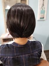 前下がり黒髪ショート.7