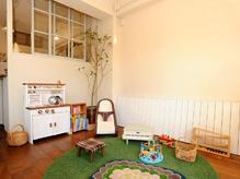 スタジオとしても使用されている空間は、年齢問わず癒されます