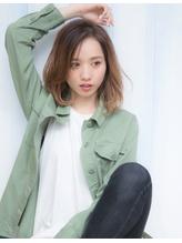 【sand小金丸】2017秋冬!グラデーションエアウェーブパーマ 2017,秋.36