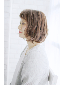 美髪黒髪着物イルミナカラーヘルシーレイヤーデジタルパーマ/101