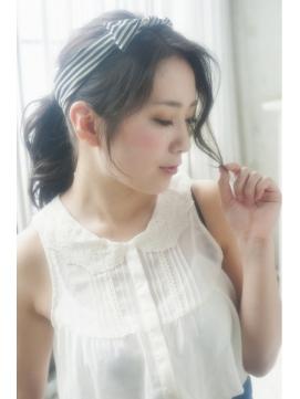☆簡単ターバンアレンジ☆【olive for hair】03-6914-0898