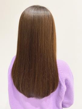 オレンジブラウン×髪質改善×ショコラブラウン