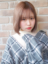 【No.8*岩切祐樹】ボブ×ミルクティーカラー .15
