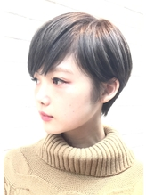 【PHASE/三畑賢人】小顔コンパクトなグレージュショート☆ 50代.36