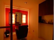 リラクゼーション専用個室。至福のリラックスタイムを満喫。