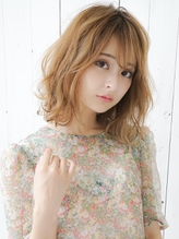 《Agu hair》小顔可愛いゆるふわ色っぽミディ♪.0