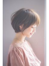 大人小顔とろみショートボブワンカール【國武さゆり】 ボーイッシュ.29