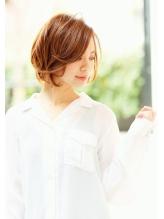 【studio Teo】 ラフウェービー チェリーレッドエレガンス フェミニン.2