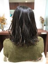 セミロング×巻き髪アレンジ.36