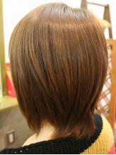 【カット+フレンチカットグラン¥3150】髪を傷めず、カットのみでくせ毛・毛量・毛質改善★