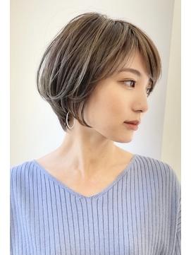 似合わせカット×耳掛けくびれショート30代40代50代【瀧上丈司】