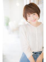 【canon】ひし形シルエット♪ふんわりショートボブ .58