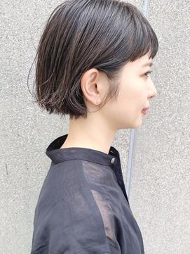 【December】大人かわいい 小顔 外ハネ ミニボブ ショートボブ♪