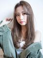 【EIGHT new hair style】ナチュラルストレート★センターパート