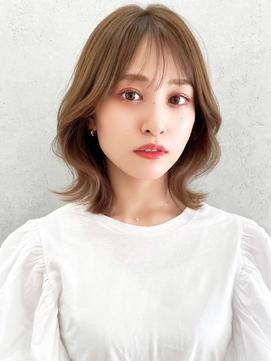 vlow表参道  ヨシンモリフェイスレイヤー 髪質改善 韓国 中島
