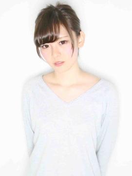 【k-two W 梅田】小顔ゆるふわロング~ナチュラルポニー~