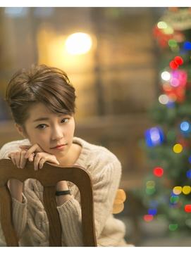 クリスマスコーデverショートアレンジ×極美髪retroクラシカル2