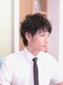 """Ratie""くせ毛風パーマのショートマッシュ【久屋大通/栄】"