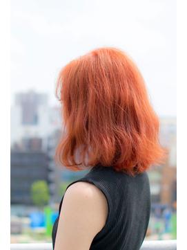(grandage池袋東口店)マーメイドオレンジデザインカラー