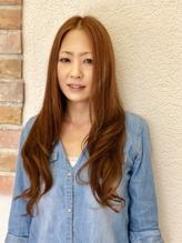 コラーゲンカラー★夏色オレンジゴールド×デジタルパーマ.12