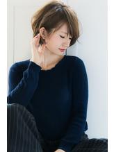 【Rire-リル銀座-】くせ毛風☆小顔ショートボブ .39