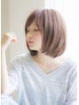 【寺尾拓巳】大人かわいいストレートナチュラルボブ