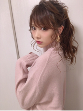 【Euphoria長谷川壮】小顔ポニーテール☆ノットヘア.40