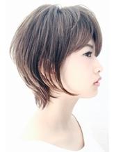 【PHASE/三畑賢人】30代40代の後頭部ふんわりボリュームショート 50代.52
