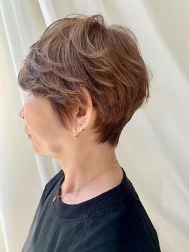 【豊塚】40代50代60代白髪ぼかしブリーチカラー