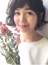【GARDEN 田中麻由】ノーブルショートボブ×低温デジタルパーマ 時短.13