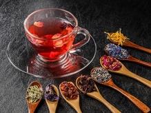 今月は温かいプーアール茶をご用意しております♪