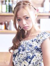 まるで海外セレブ☆安定の編み込みアレンジスタイル♪ カチューム.28