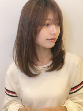 《Agu hair》大人かわいいふんわり 小顔ヘア