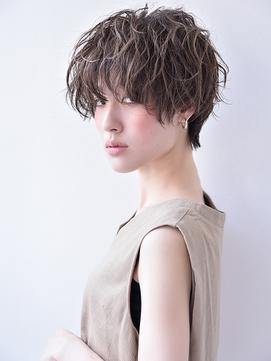 【tetote】ツヤ感×ルーズマッシュ