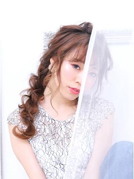 【KAINO】ルーズヘアアレンジマーメイドスタイル
