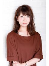 【i+me】☆ふんわりミディアムヘア☆(泉岳寺美容室/i+me泉岳寺).9