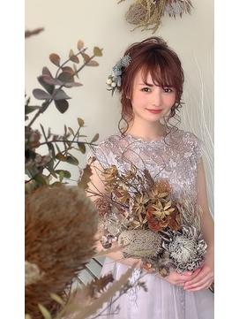 *結婚式*花嫁*参列/ルーズアップ